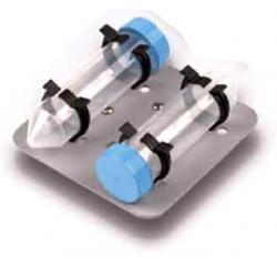 Cabezal de Vortex VX-200, para 2 falcon de 50 ml en posicion horizontal.