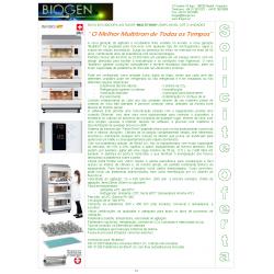 Catálogo Biogen en portugues Agitadores con Incubación y Fermentadores INFORS