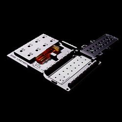 Placa LVIs permite medir hasta 16 muestras de tan sólo 2 μl. de volumen, cubetas de 1 cm. de paso de luz en posición horizontal.