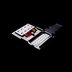 Placa LVIs permite medir hasta 16 muestras de tan sólo 2 μl. de volumen, cubetas de 1 cm.