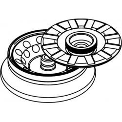 Rotor Angular 24 x 2/1,5ml, con tapa hermética (max RPM/RCF 14 500rpm/15 279xg / 6 000rpm/2 616xg)