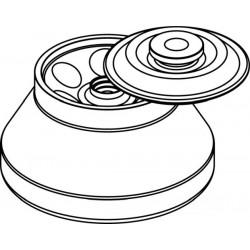 Rotor Angular 6 x 50ml para tubos Falcon, con tapa hermética (angulo 30°) (max RPM/RCF: 10 000rpm/10 733xg)