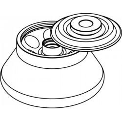 Rotor Angular 6 x 30ml para Nalgene tubes, con tapa hermética (angulo 30°) (max RPM/RCF: 15 000rpm/19 621xg)