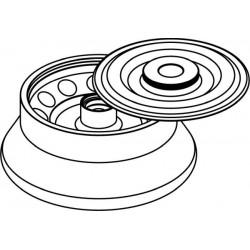 Rotor Angular 12 x 10ml (O17x77mm), con tapa hermética (angulo 30°) (max RPM/RCF: 15 000rpm/21 382xg)
