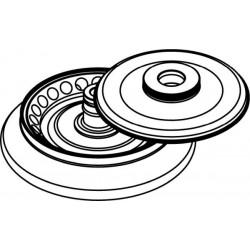 Rotor Angular 24 x 2/1,5ml, con tapa hermética (angulo 45°)