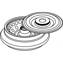 Rotor Angular 36 x 2/1,5ml, con tapa hermética (angulo 45°)
