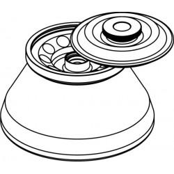 Rotor Angular 10 x 15ml para tubos Falcon, con tapa hermética (angulo 30°) (max RPM/RCF: 10 000rpm/10 733xg)