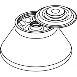 Rotor Angular 12 x 10ml (O17x109mm), con tapa hermética (angulo 30°) (max RPM/RCF: 12 000rpm/15 133xg)