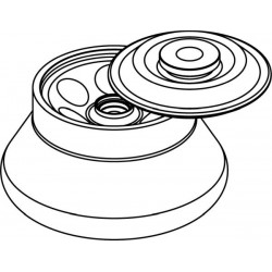 Rotor Angular 6 x 50ml para tubos Nalgene, con tapa hermética (angulo 30°) (max RPM: 12 000)