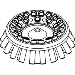 Rotor Angular 30 x 15/10ml, completo con 13080 buckets (O 17x100/120mm) (angulo 30°)