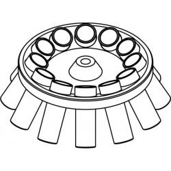 Rotor Angular 12 x 30/25ml, completo con buckets 13329 (angulo 30°)