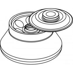 Rotor Angular 6 x 50ml para tubos Nalgene (O28x106mm), con tapa hermética (angulo 30°) (max RPM/RCF: 14 500rpm/21 625xg)