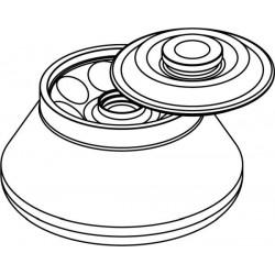Rotor Angular 8 x 50ml para tubos Nalgene (O 28x106mm), con tapa hermética (angulo 30°) (max RPM/RCF: 14 000rpm/21 255xg)