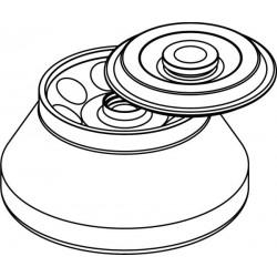 Rotor Angular 8 x 50ml para tubos Falcon, con tapa hermética (angulo 30°) (max RPM/RCF: 14 000rpm/23 666xg)