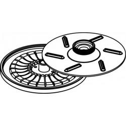 Rotor de Hematocrito para 24 capillaries 50mm (max RPM/RCF: 14 500rpm/14 574xg)