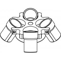 Rotor Oscilante 4 x 200ml (max RPM/RCF para MPW-352/R/RH: 5 200rpm/4 414xg, MPW-351e: 4 500rpm/3 305xg)