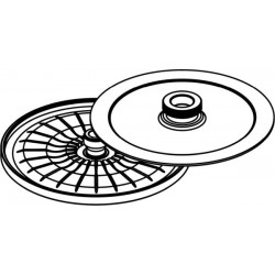 Rotor de Hematocrito para 24 capillaries 75mm (max RPM/RCF: 13 000rpm/16 816xg)