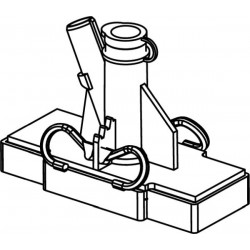 Cyto-container type 610 to the cyto-rotor, complete, ready to use (100pcs - set)