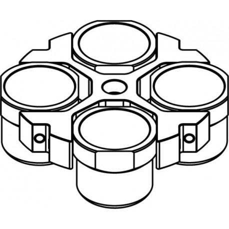 Rotor Oscilante 4 x 750ml (max RPM/RCF: 4 100rpm/3 458xg)