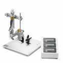 Estereotáxico Digital compacto para ratón, manipulador de 3 ejes mano izq.