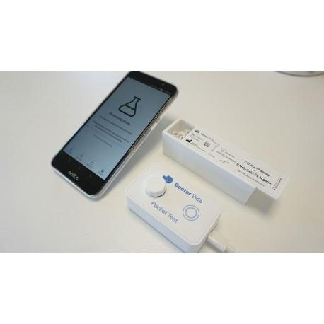 Detector Poket , Covid 19. PCR  2