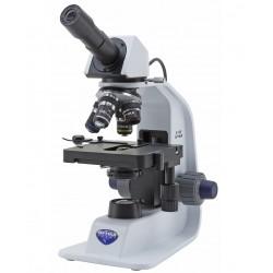 """Microscopio Monocular, 400x, batería recargable de litio, objetivos N-PLAN. """"SERIE B-150"""""""