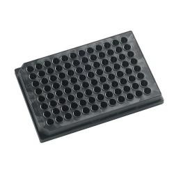 """Microplacas """"KRISTAL"""" Negras 96 pocillos 350 µl"""