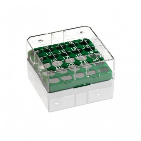 Placas PCR. Policarbonato , 96 pocillos. con faldon. 100 unids.