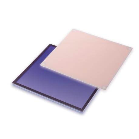 Pantalla de conversión de azul (25x30cm).