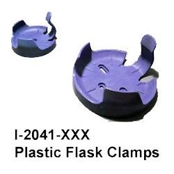 """Pinza de plástico para matraces de 125l. Para AGITADOR ORBITAL INCUBADOR COMPACTO """"222DS"""""""