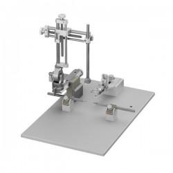 Estereotáxico compacto para rata, 1 manipulador