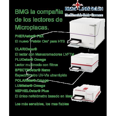 BMG la compañia de los lectores de microplacas