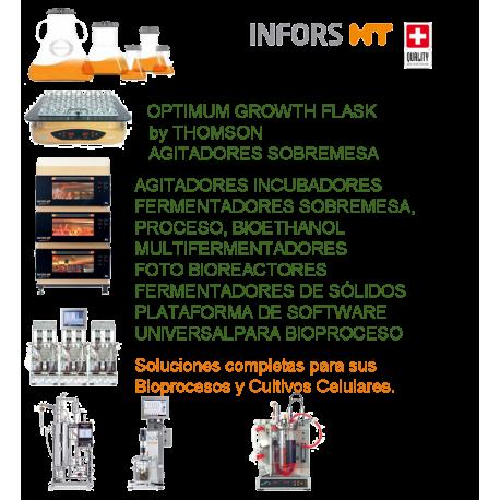 INFORS Soluciones completas para sus Bioprocesos y Cultivos Celulares.