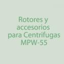 MPW-55 Rotores, Accesorios