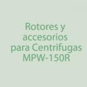 MPW-65R Rotores, Accesorios