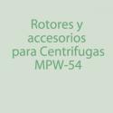 MPW-54 Rotores, Accesorios
