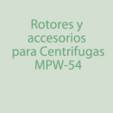Rotores, Accesorios para MPW-54