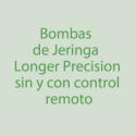 Bombas de Jeringa Longer Precision. Control Remoto