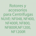 NU-NF400/NF400R/NF800/NF800R/NF1200/NF1200R Rotores, Accesorios