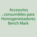 Benchmark, Accesorios, Consumibles
