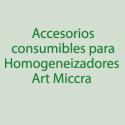 Consumibles, acces. para Miccra
