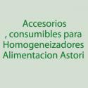 Astori Accesorios, consumibles