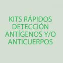 Kits rápidos detección antígenos y/o anticuerpos