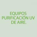 Equipos purificación UV de aire.