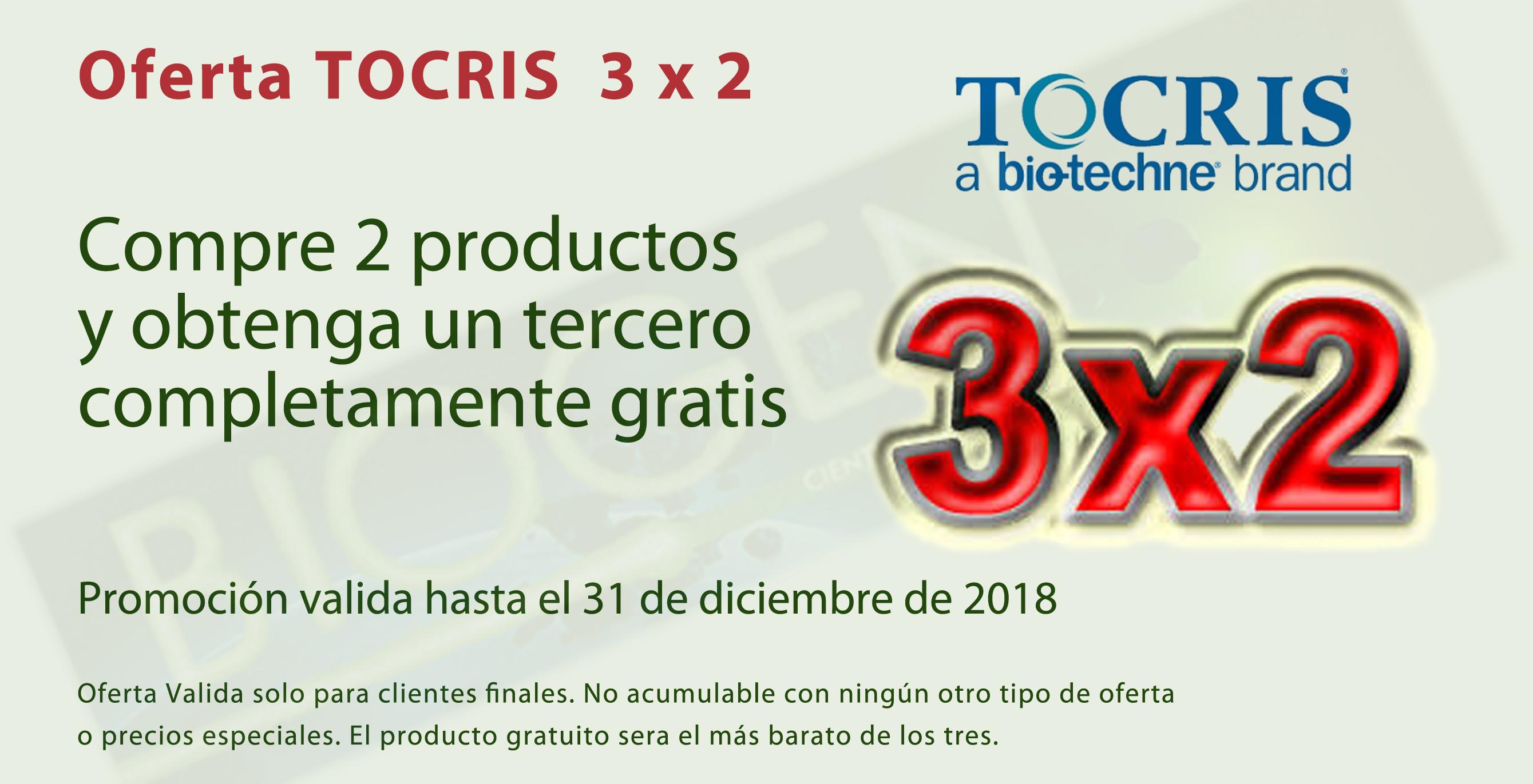 Oferta Tocris 3x2