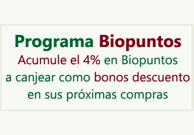 Programa Biopuntos - 4% de Descuento