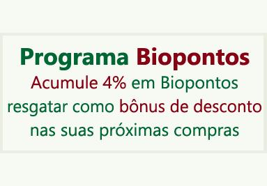 Programa Biopontos - 4% de Desconto
